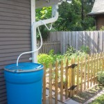 We repaired our gutters and are testing out our new rain barrels