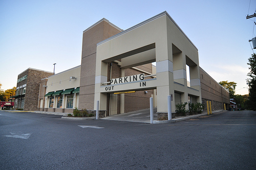 Fresh Market Parking Entrance