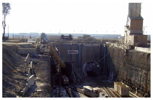 Hiawatha LRT Tunnel Entrance (via Specmix)