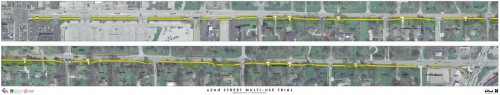 Site View of 62nd Street Trail (click to open large scale .pdf)