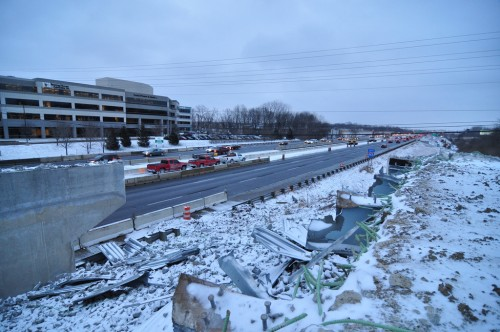 Reconstruction of 465 on Indy's NS (Winter 2009/2010)