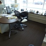 Another office - note access to daylight and underfloor register