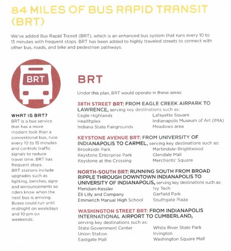 BRT Detailed Routes