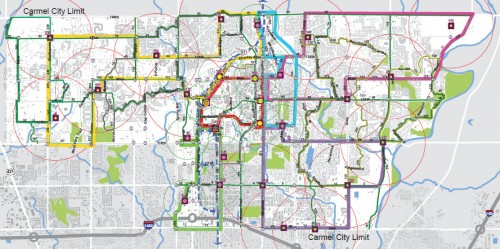 Carmel Circulators proposed by Indyconnect