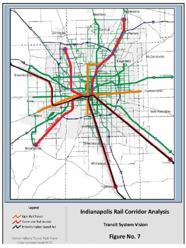 Prospective Future Passenger Rail (Image source: MPO Report)