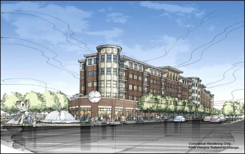 Rendering of The Avenue at 10th & Indiana