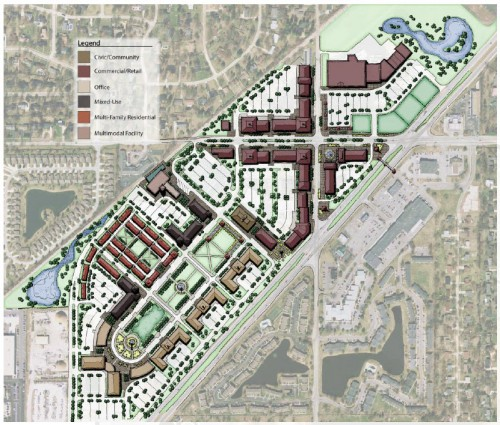 Potential Master Plan (image source: MPO report)