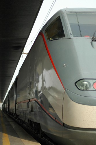 ETR 500 high speed train at Venice Station (image source: me)