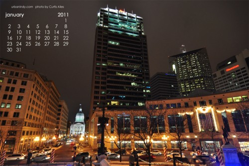 January 2011 Wallpaper