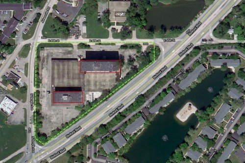 Site Plan (image via google maps; click to enlarge)