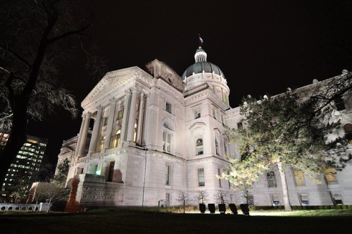 Indiana Statehouse (image source: me)