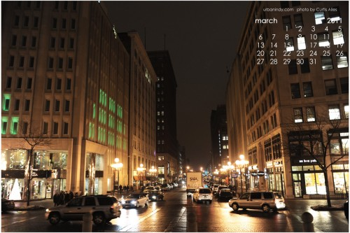 March 2011 Wallpaper