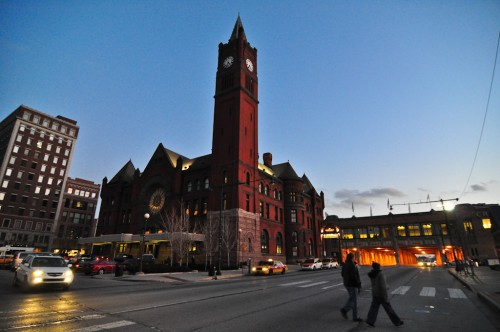 Union Station in DT Indy (image source: Curt Ailes)
