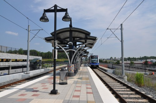 I-485 Station Platform; a typical Lynx Station (image credit: Curt Ailes)