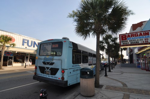 Myrtle Beach's &quot;Coast&quot; transit bus service (image credit: Curt Ailes)