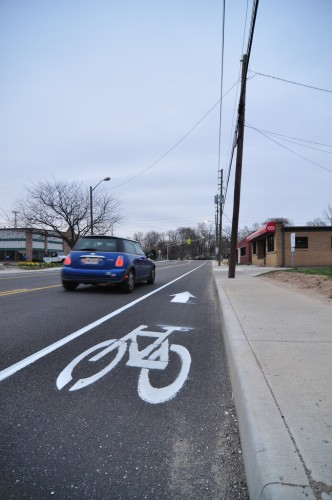 52nd Street Bike Lane (image credit: Curt Ailes)