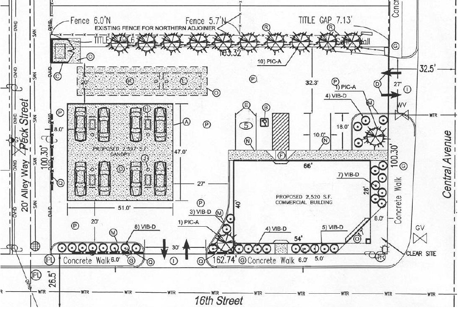 A previously rejected siteplan for the gas station ...  sc 1 st  Urban Indy & Urban Gas Stations in Historic Districts | Urban Indy