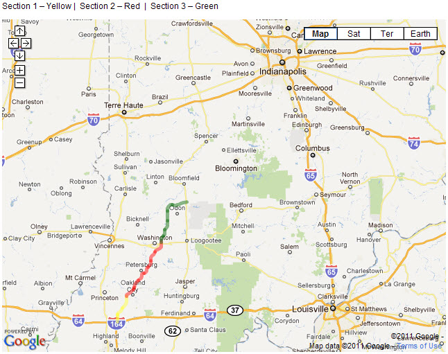 I69 Indiana Map.Battle Over I 69 In Sw Indiana Heating Up Urban Indy