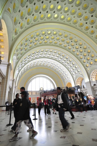 Union Station in DC (image credit: Curt Ailes)