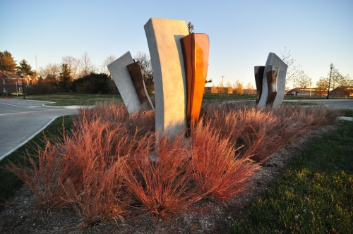 Sculpture by Jared Cru Smith (image credit: Curt Ailes)
