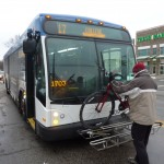 IndyGo buses accept bikes in case you are planning a bike/ride event