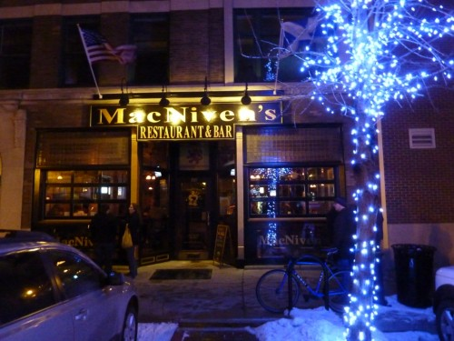 MacNiven's on Mass Ave is a local favorite