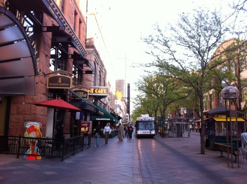 Denver: 16th Street Mall (image credit: Kris Davidson)