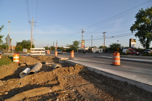 62nd Street Trail under construction (image credit: Curt Ailes)