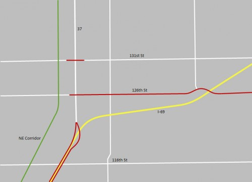Operation Indy Commute Map
