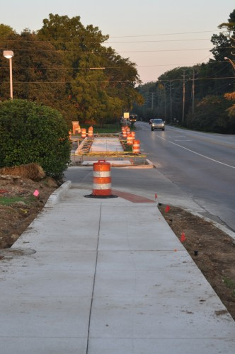 62nd Street Trail Construction (image credit: Curt Ailes)