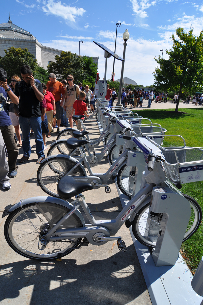 Bikes In Indianapolis Chicago B Cycle image credit
