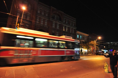 Queen Street Streetcar, Toronto (image credit: Curt Ailes)