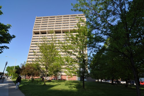 Barton Tower pre-expansion (image credit: Curt Ailes)