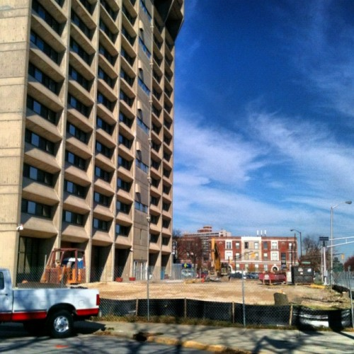 Barton Tower Expansion underway (image credit: Curt Ailes)