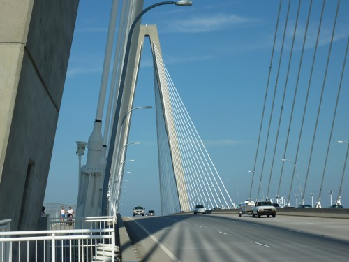The Ravenel Bridge is exercise path, nature trail, bike lane, and community link - but the design could have been more than merely functional