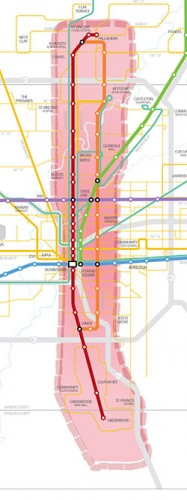 Red Line Project Scope
