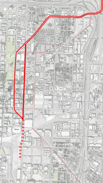 Green Line Study Examines Downtown Alignments Urban Indy
