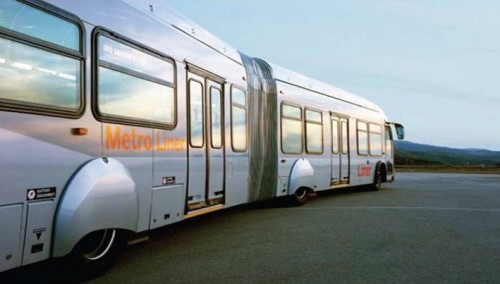 Los Angeles Orange Line Vehicle (image credit: FTA)