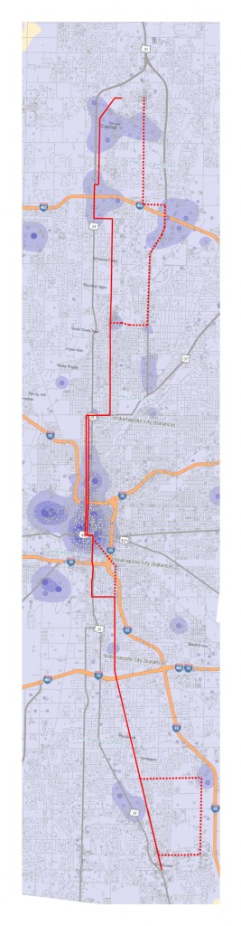 Red Line Alternatives vs Job Locations