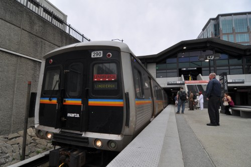 MARTA Linbergh Station (image credit: Curtis Ailes)