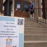 The old Carnegie Library received many new visitors
