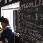 Tlaolli opened, and served some great Tamales