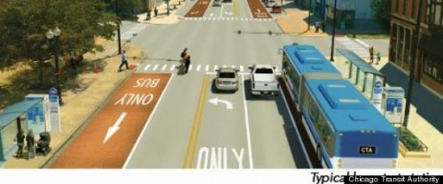 """Sidewalk"" Station Concept (image credit: Chicago Transit Authority)"
