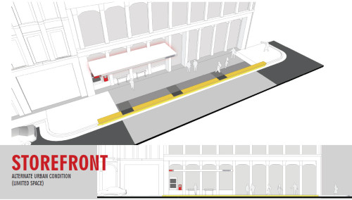 Red Line - Store Front Station