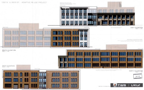 1352 N Illinois proposed elevations