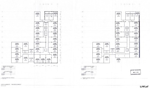 1352 N Illinois proposed floor plans