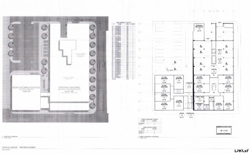 1352 N Illinois proposed site plan