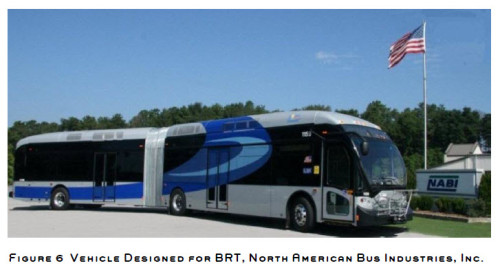 Blue Line Recommended Mode - BRT (image source: MPO)