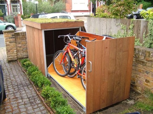 A new kind of garage, fit for a modern city (image credit: unknown)