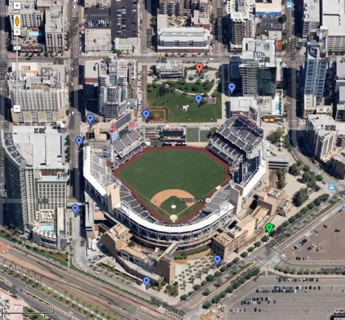 Places Spaces Of San Diego Petco Park At The Park